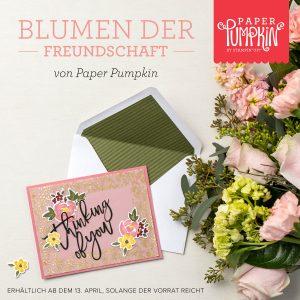 Blumen der Freundschaft - Paper Pumpkin - Stampin'Up!